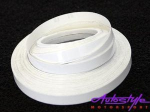 White Pin Striping 6mm x 10m-0