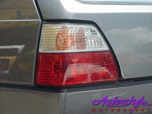 VW Golf Mk2 Semi Clear Crystal Tail Lamps (pair)-0