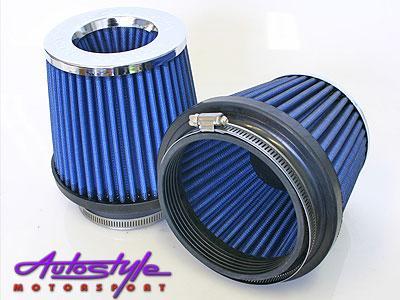 Simota Dual Cone Air Filter 115mm Inlet Diameter