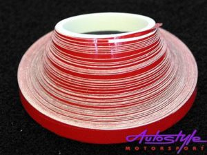 Red Pin Striping 6mm x 10m-0