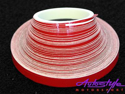 Red Pin Striping 6mm x 10m
