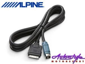 Alpine KCE-433IV iPod Connection Cable-0