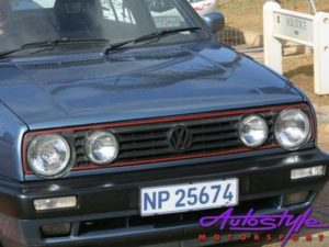 VW Golf MK2 Replacement Double Light Grille -0