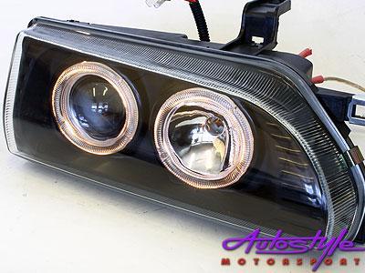 E8E9 Babycamry Smoke Angel Eye Headlights-0