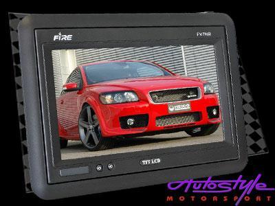 Fire 7″ Headrest Screen