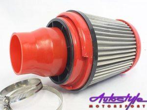 76mm Orange Filter + Silicone Reducer-14014