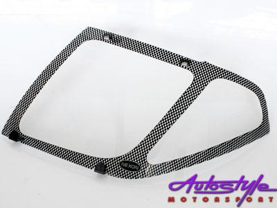 Nissan Navara,pathfinder Carbon Headlight Shields-0