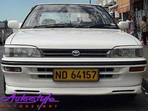 Toyota E8E9 2slot front bumper-0