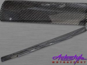 Carbon Look Bonnet Shield for Isuzu 89 to 96 model-0