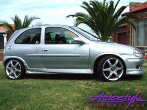 Opel Corsa Avant Style Side Skirts-0