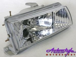 Toyota Twincam Chrome Crystal Headlights
