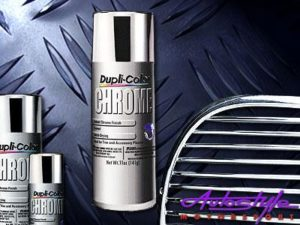 Dupli-Color Instant Chrome Aerosol Paint-0