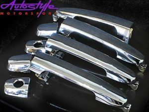 Toyota Fortuner Chrome Door Handle Covers-0