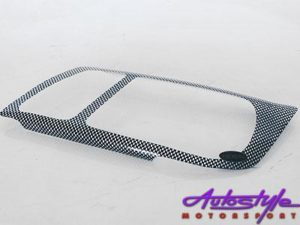 VW Jetta Mk4 Carbon Headlight Shields-0