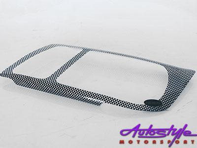 VW Jetta Mk4 Carbon Headlight Shields