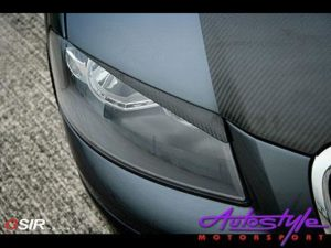Osir Carbon Fibre Eyelids to fit Audi A3-0