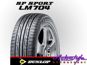 """225-40-18"""" Dunlop LM704 Tyre-0"""