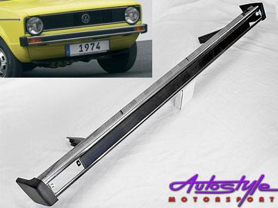 VW Mk1 Old School Small Chrome Bumper-0