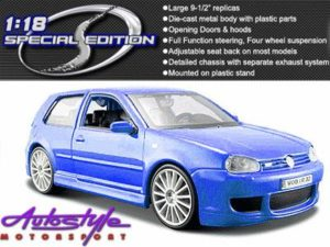 Maisto 1:24 VW Golf 4 R32 model car-0