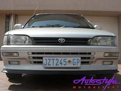 Toyota E9E9/Tazz Replacement 3-slot Front Bumper