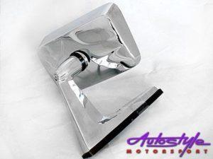 Chrome Mirror For MK 2 Oldskool-0