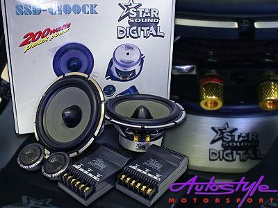 Starsound Digital 5″ splits