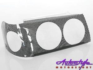 Fiat Uno Carbon Look Headlight Shields-0