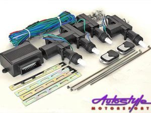 Central Locking Kit - 4door - with remote-0