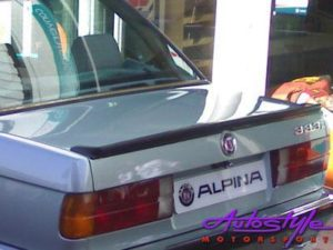 Suitable for E30 Rubber Alpine Style Bootspoiler-0