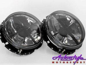 Vw Golf 1 Smoked Crosshair Headlights-0