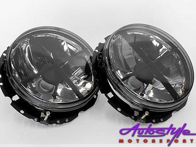Vw Golf 1 Smoked Crosshair Headlights