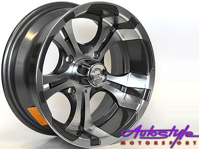 "13"" A-Line Zipp 4/114 Alloy Wheels-0"
