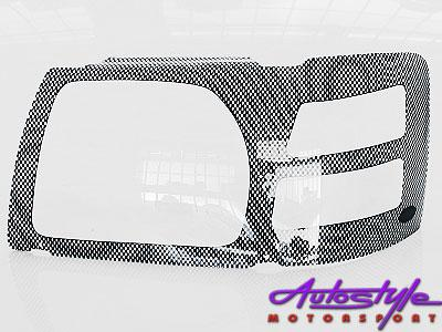 Ford Ranger 07up Carbon Headlight Shields-0