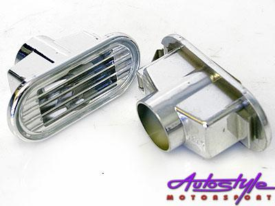 Honda Luxline Chrome Side Indicators-0