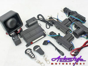 Central Locking kit with Alarm System-0