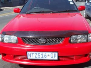 Carbon Fibre Look Bonnet Guard for Toyota Tazz 2000up