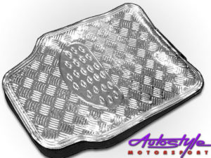 NX Floor Mats with Chrome Look Design