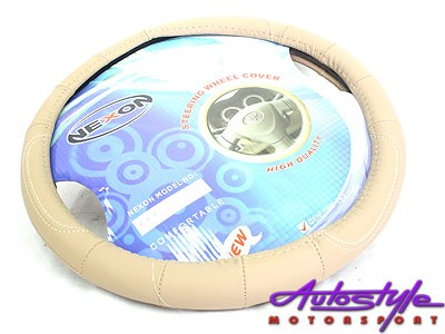 NX Steering Wheel Covers Beige-0