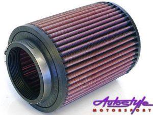 K&N RU-2820 Cone Air Filter 76mm inlet-0