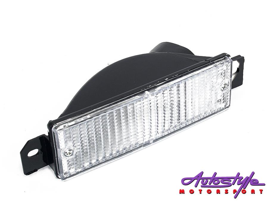 Suitable for E30 Clear Front Bumper Indicators (pair)
