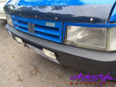 Fiat Uno Carbon Look Bonnet Shield