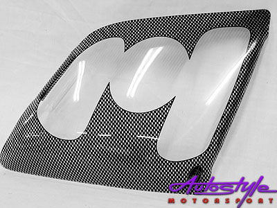 Isuzu 08 + Carbon Look Headlight Guard