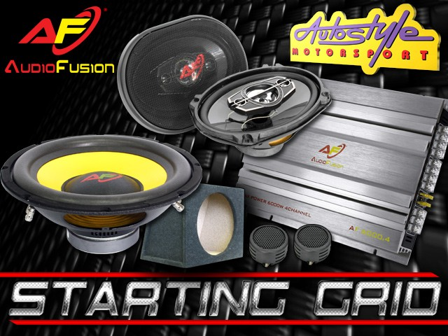 Starting Grid Car Audio Combo System-0
