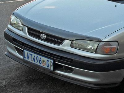 Toyota Cressida 2pc Plastic Front Spoiler
