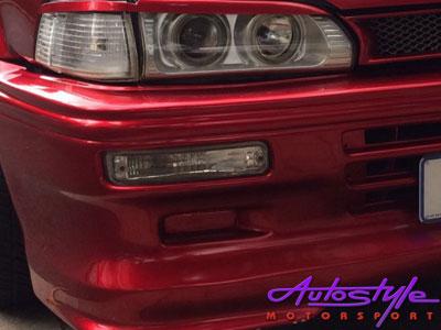 "Toyota E8E9 ""Baby Camry"" Crystal Bumper Indicators-22474"