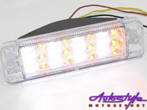 VW Golf Mk1 LED 2 Line Bumper Indicator (pair)-0