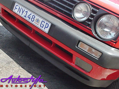 VW Golf MK2 Front Spoiler - 16v GTi 2 piece -9532