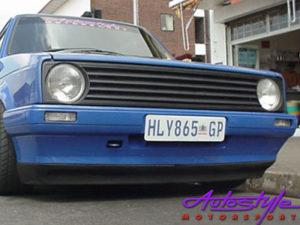 VW Golf MK2 Front Spoiler - 16v GTi 2 piece -9531