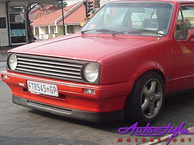 VW Golf Mk3 Bonrath 2pc Plastic Front Spoiler-9584