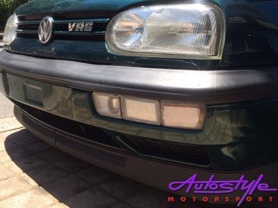 VW Golf Mk3 Bonrath 2pc Plastic Front Spoiler-22448